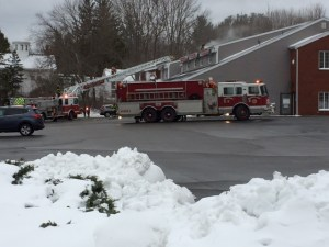 Georgetown Fire Department Battles 2-Alarm Fire in Commercial Building