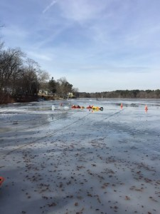 Georgetown Fire Department Completes Ice Rescue Training