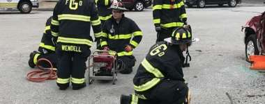 Georgetown Firefighters Train on Vehicle Extrication