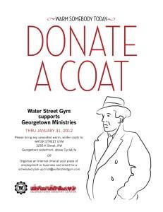 WaterStreetGym coat drive