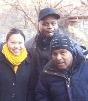 L-R: Stephanie (Program Manager), Warren, and Tony