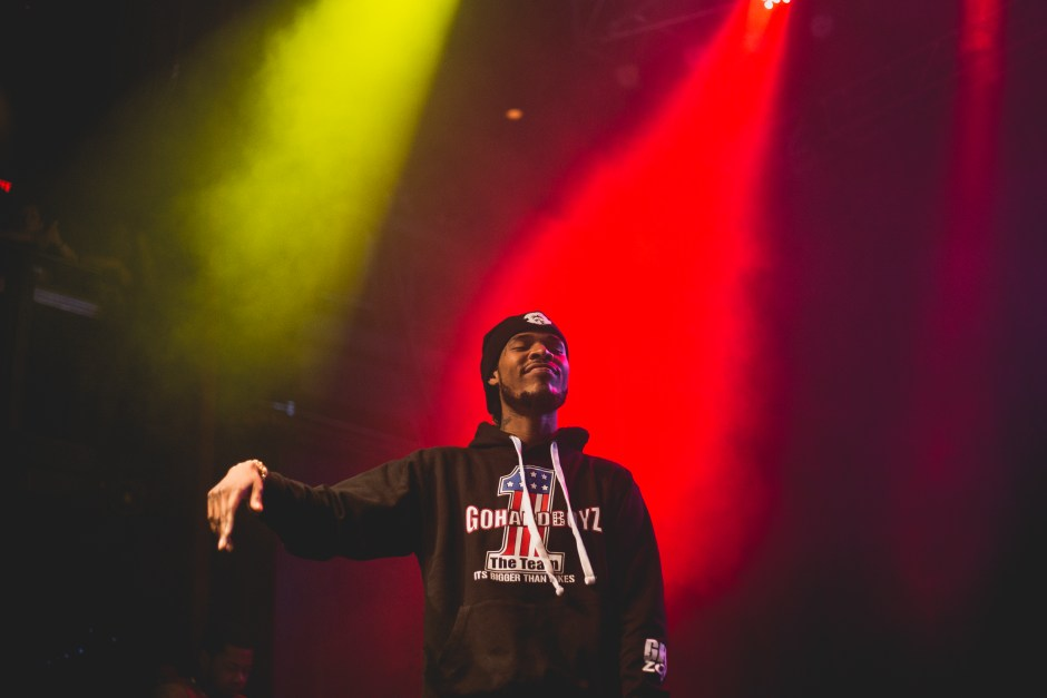 Fetty Wap at the Fillmore Silver Spring, February 2016.