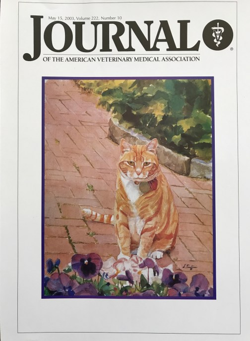 American Veterinary Medical Association Journal- May 15,2003