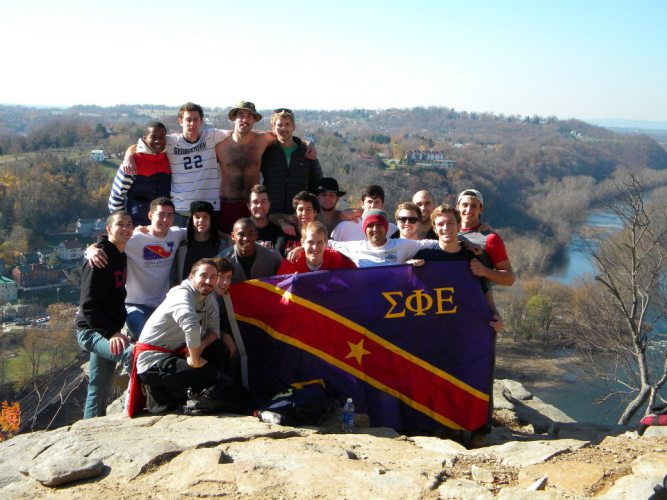 Greek life at Georgetown