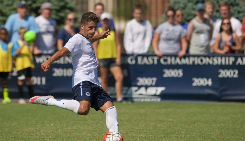Four No-Scores And Nine Games Ago: Men's soccer downs Marquette 3-0, extends undefeated streak to nine