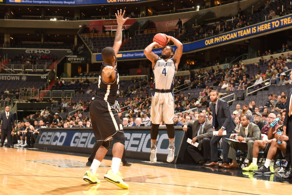 Peak-ing Havoc: Peak's 20 points lead Hoyas in first home win of the season