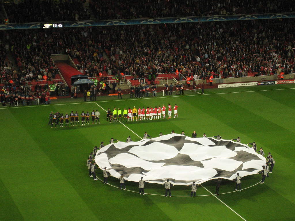 Get Up to Date: Champions League '15-16