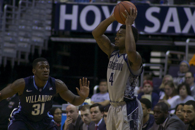 We Are Georgetown and You're Not: Hoyas return home for first taste of rival Villanova
