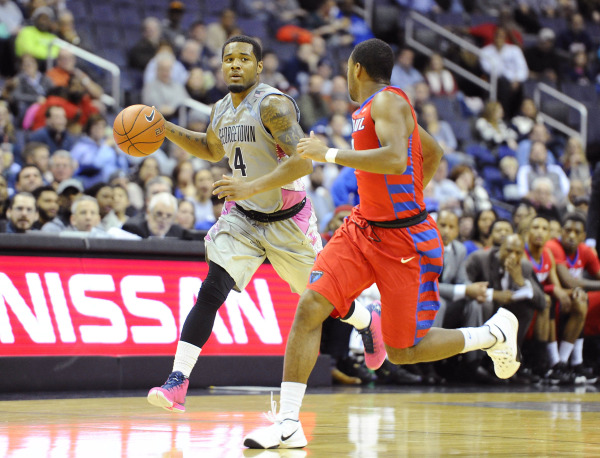 Second-Half Smoke: Hoyas come from behind in strong second half to complete sweep over DePaul