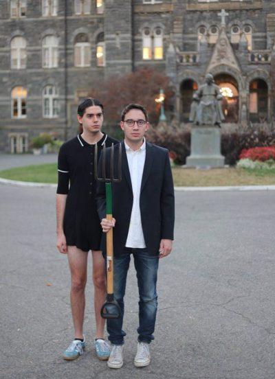 Joe and Connor bare all.