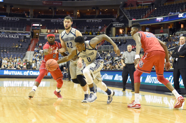 Full Speed Ahead: Hoyas ready to leave recent disappointments in the rearview