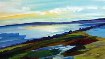 High Head Vista Provincetown, Kate McConnell The Touchstone Gallery