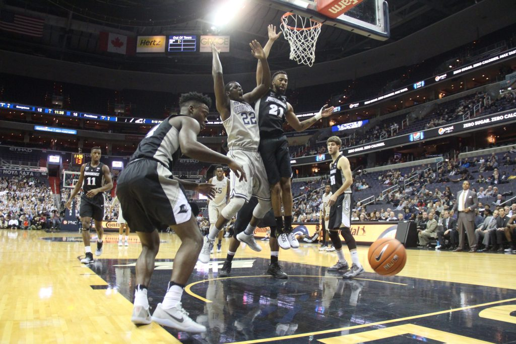 Men's basketball loses sixth-straight matchup with Providence, falls to 1-5 in Big East play