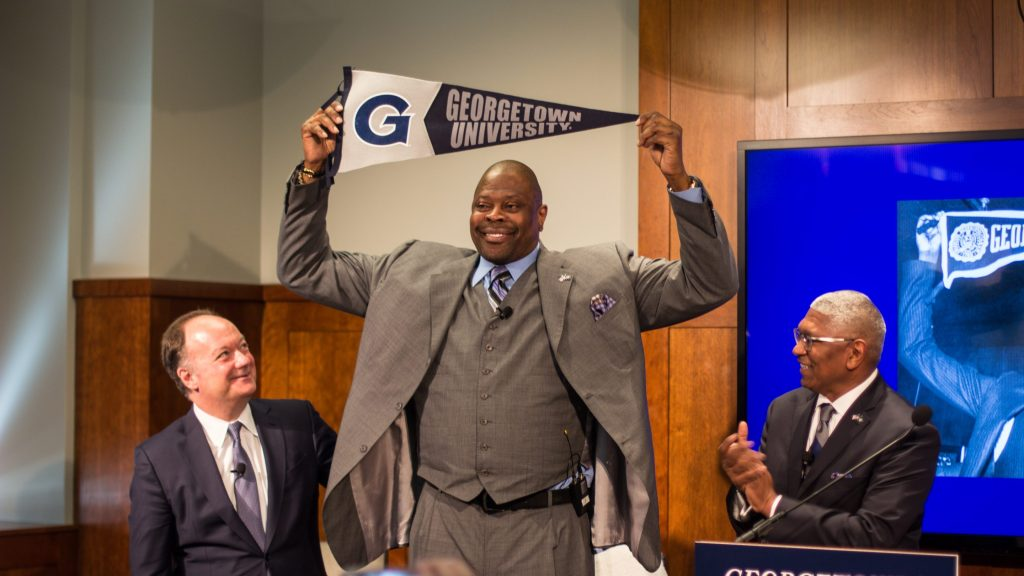 The Hilltop Welcomes Patrick Ewing
