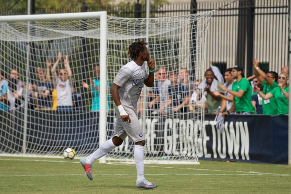 Hoyas ride Achara's brace to beat Mustangs 3-1