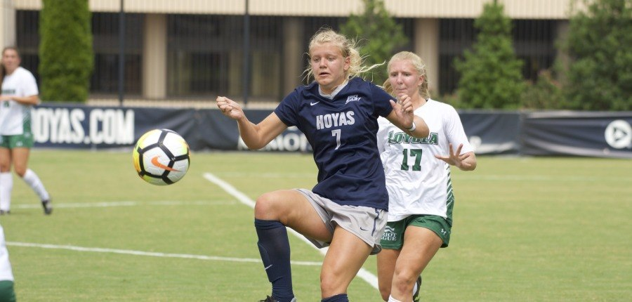 Carolan's Four Goals Lead No. 12 Women's Soccer Past Villanova