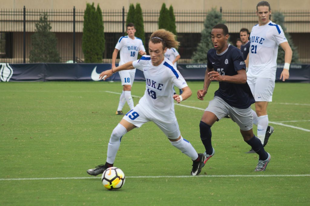 No. 10 Men's Soccer Outlasted by No. 19 Duke