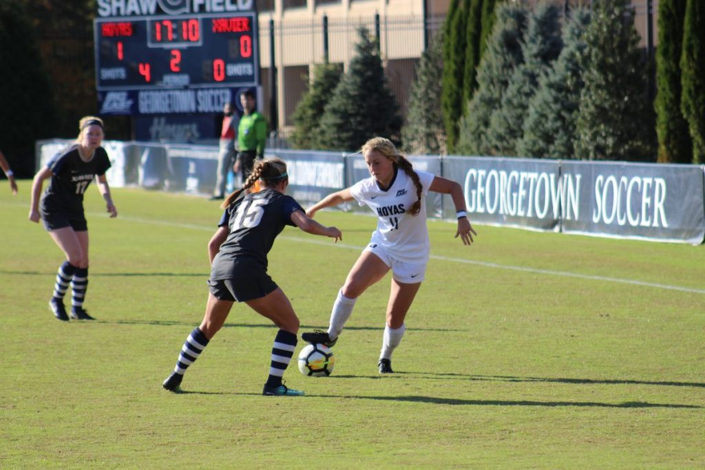 Women's Soccer Beats Xavier, Clinches Big East Regular Season Crown