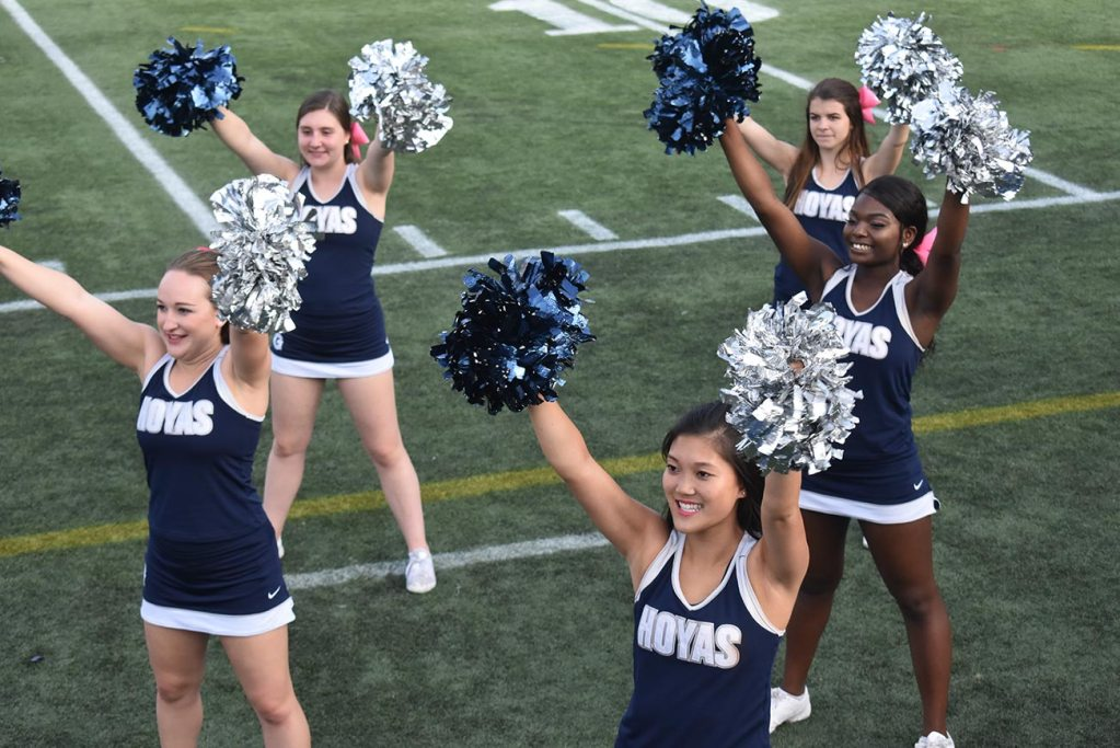 All that Glitters is Not Gold: Georgetown cheer team members speak out
