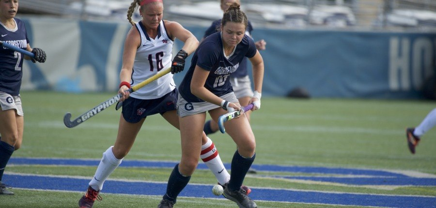 Senior Day Win Caps Up and Down Season for Field Hockey
