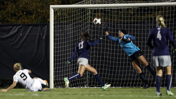 Women's soccer's season ends on penalties at Wake Forest