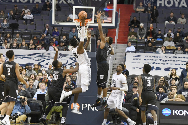 Double and nothing: Hoyas fall in 2OT to Bulldogs