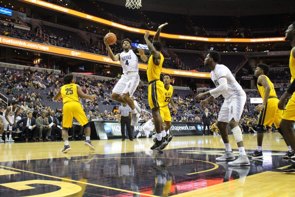 Still undefeated: Georgetown rides a hot start to victory over North Carolina A&T