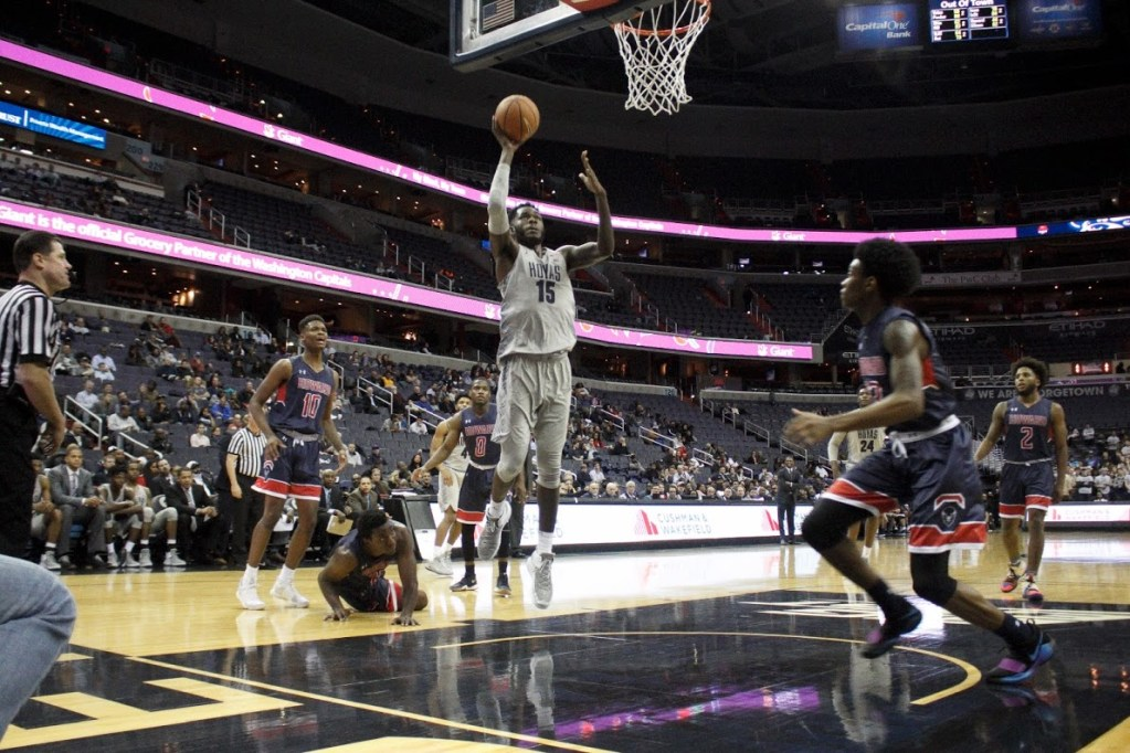 And then there were eight: Georgetown remains undefeated against Howard