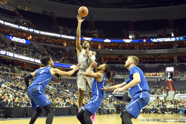 Stomped: Men's basketball outclassed at home against Creighton