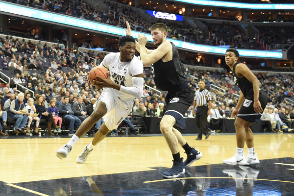 Sigh of relief: Men's basketball earns first Big East win at DePaul