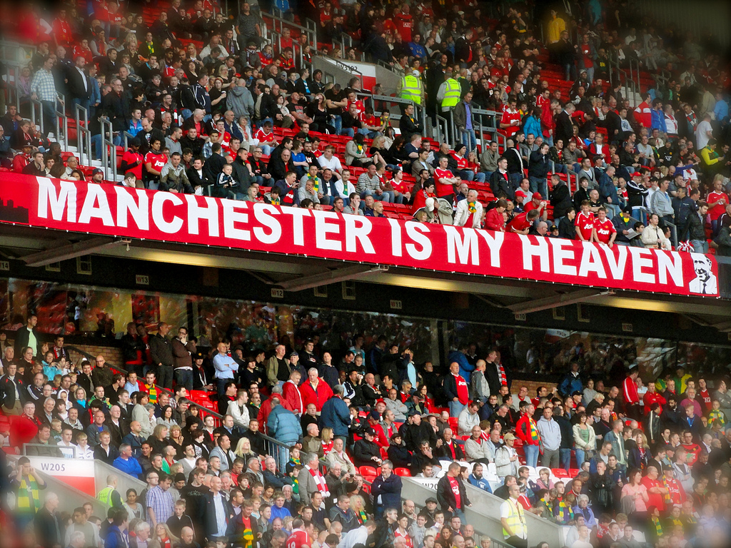 Manchester is Blue and the Red Half's Panic