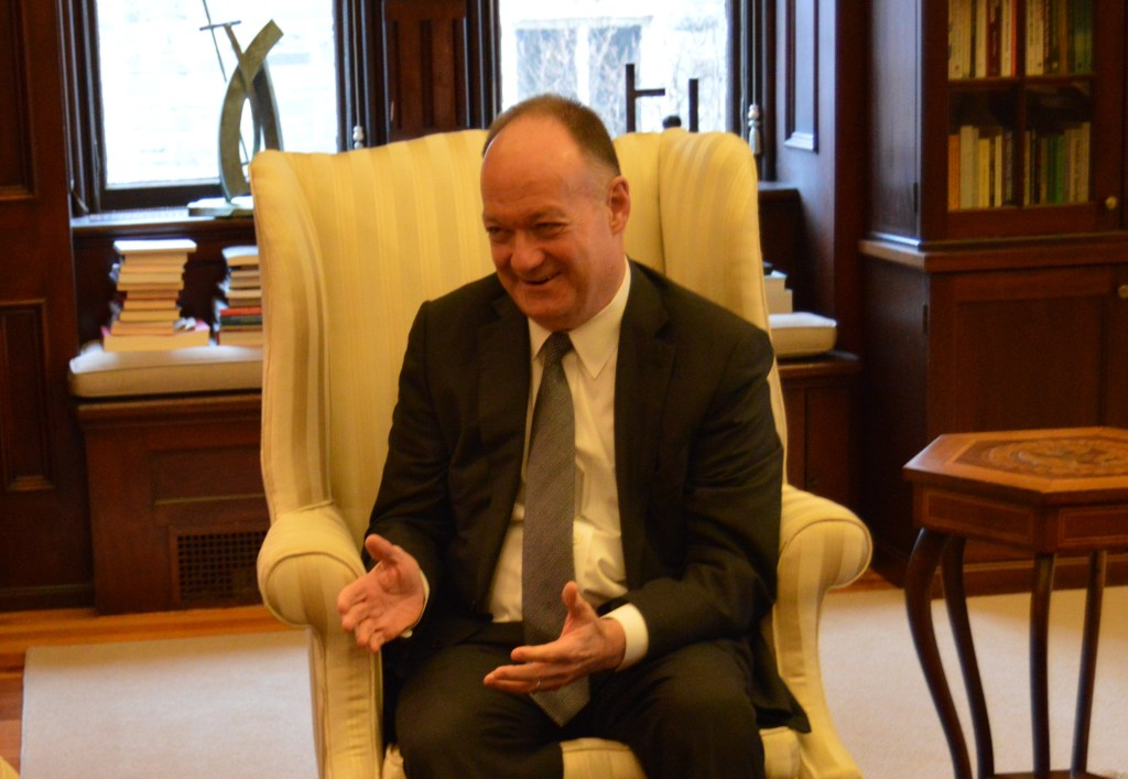 On the Record with President DeGioia on Activism, Affordability, and the 272