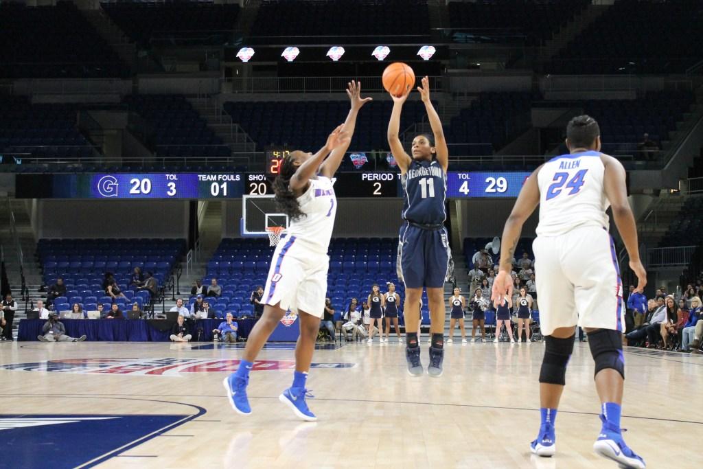 Women's basketball hosts Delaware and former head coach Natasha Adair in WNIT first round