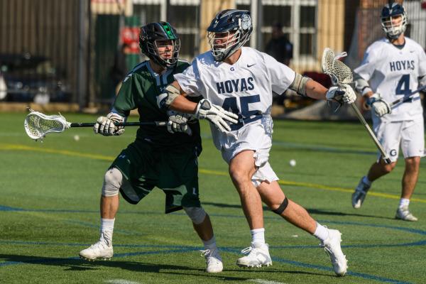 Men's Lacrosse Takes Down St. John's