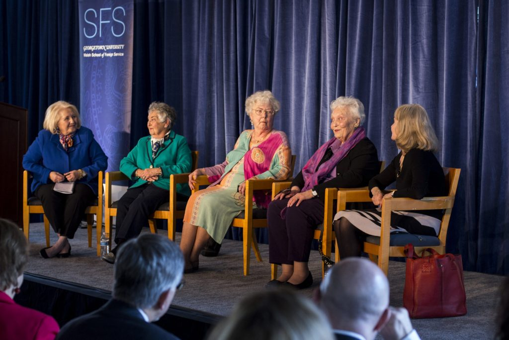 First Ladies: SFS Grads Revisit Time on the Hilltop