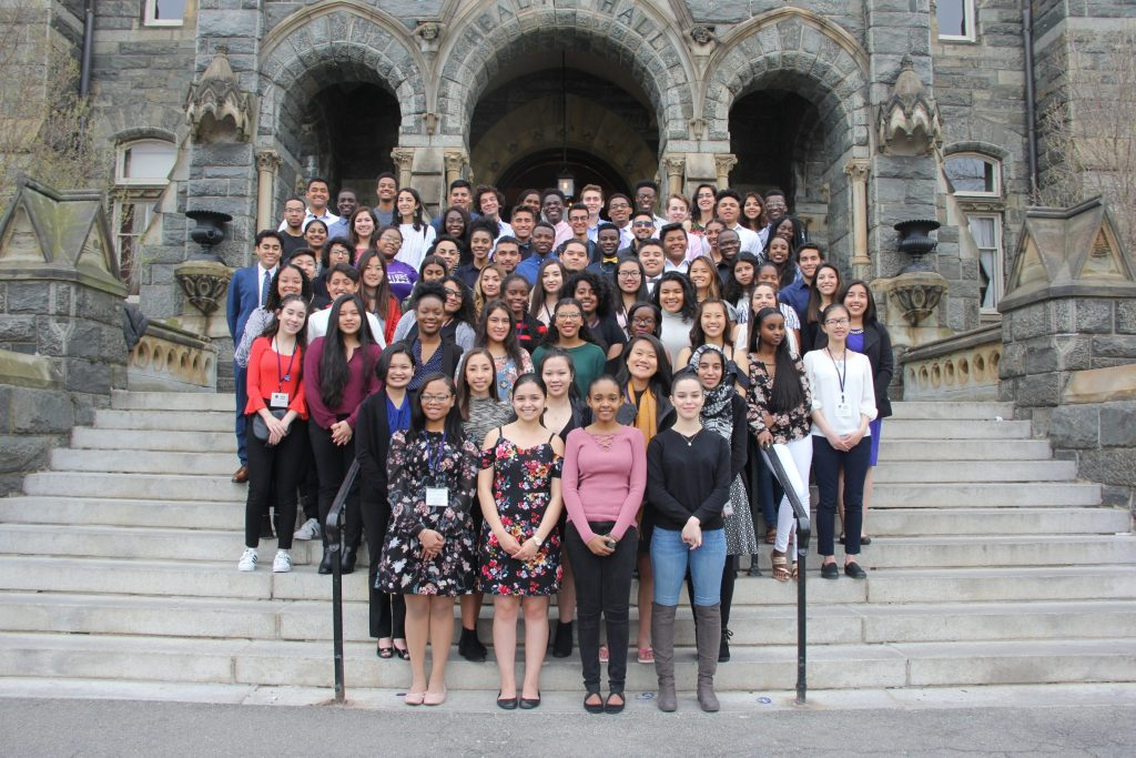 Easy Decision: Hoya Saxa Weekend Welcomes Students of Color