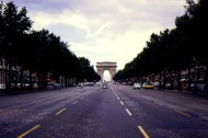 A view of the Arc so perfectly centered on the Champs Elysees. Photo credit: Jan