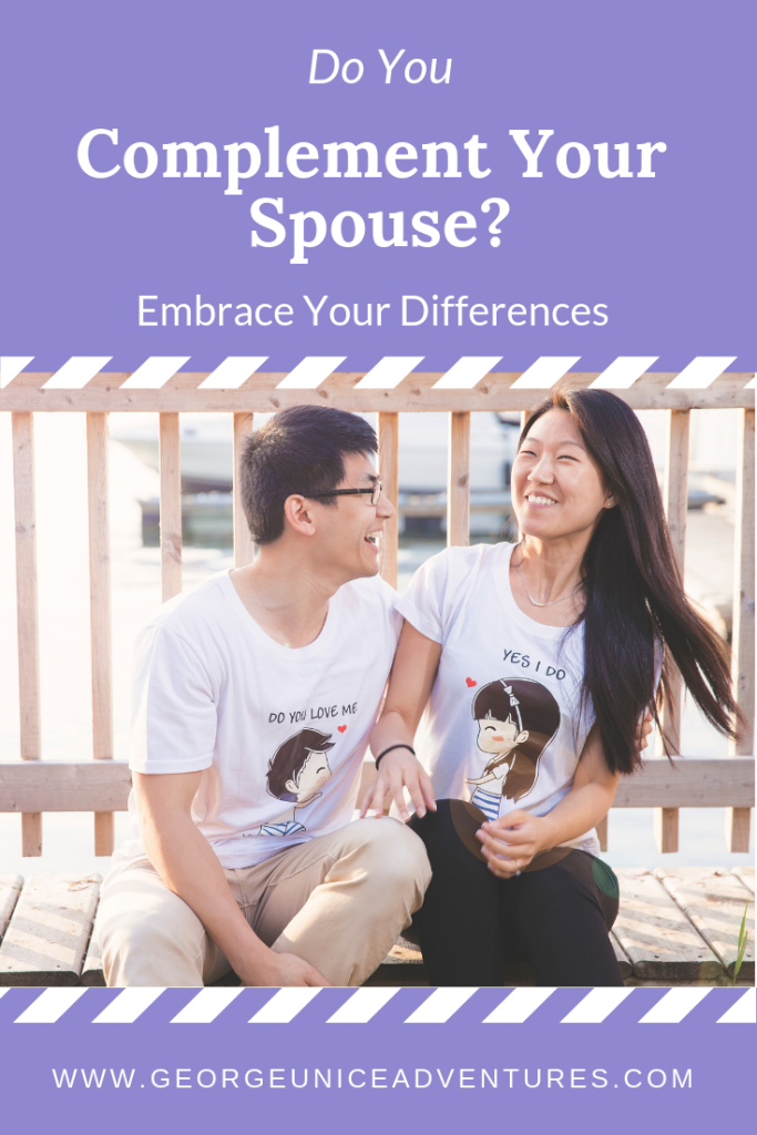 How We Complement Each Other In Marriage