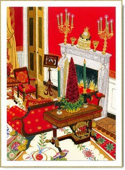 Red Room To Be Highlighted In 2004 White House Christmas Card