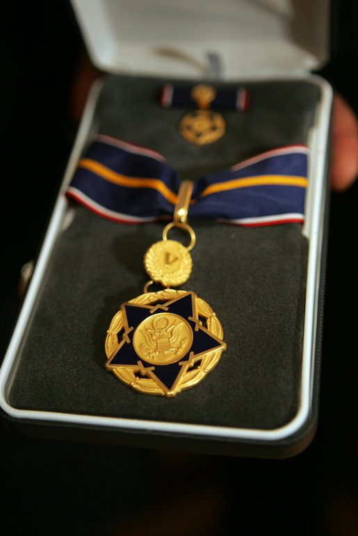 The Medal Of Valor Is Awarded To Public Safety Officers