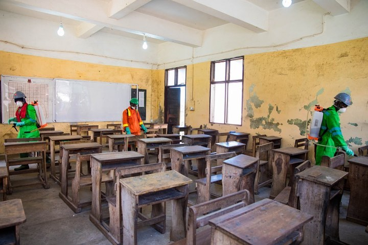Govt commended for disinfecting basic schools in Savannah Region