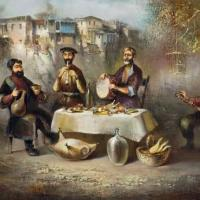 About Art - Paintings of Old Tbilisi by Vaja Meskhi