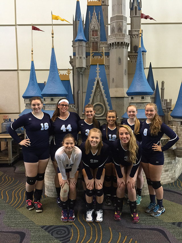 Georgia Adrenaline Volleyball Club, Team 16-1 at Disney Qualifier 2015