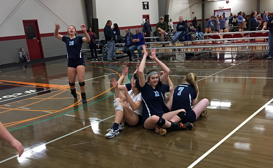 Georgia Adrenaline Volleyball Club, Team 18-Lisa during the 2017 season