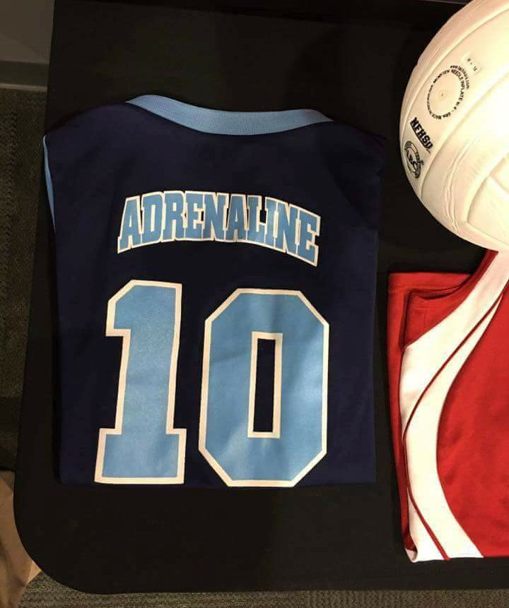 In Memory of Jenna, Georgia Adrenaline Volleyball Club