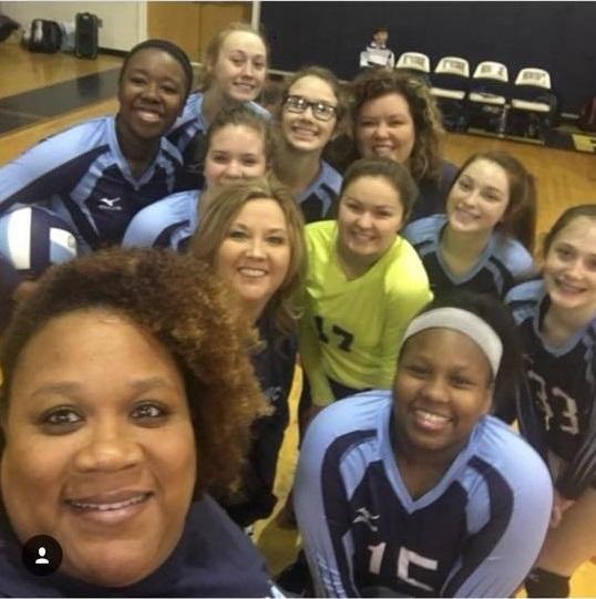 Georgia Adrenaline Volleyball Club, Team 18-Lisa during the 2018-2019 season
