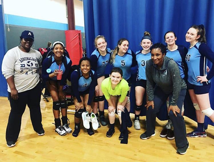 Georgia Adrenaline Volleyball Club, Team 17-Erica during the 2019 season