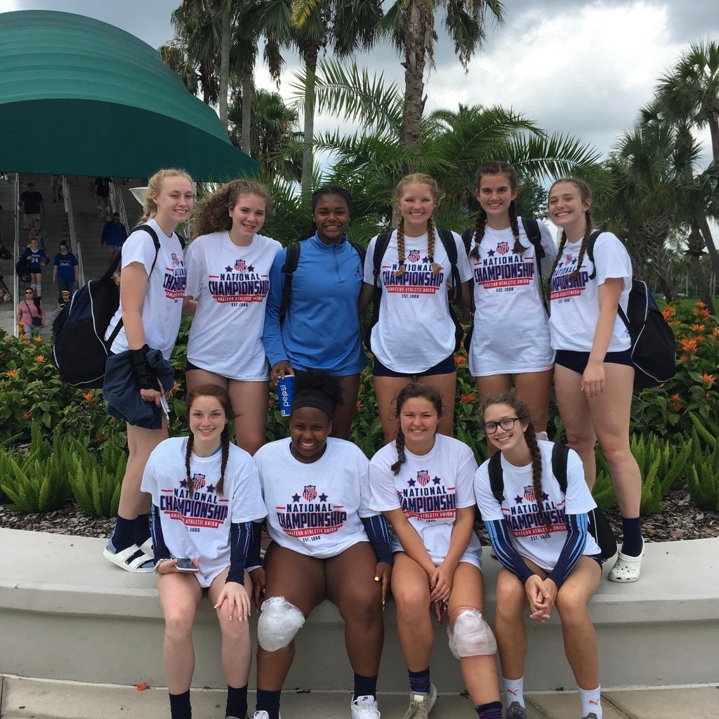 Georgia Adrenaline Volleyball Club at Nationals in Orlando, 2019