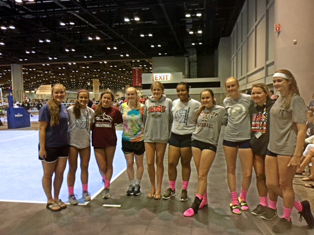 Georgia Adrenaline Volleyball Club at AAU Nationals in 2017