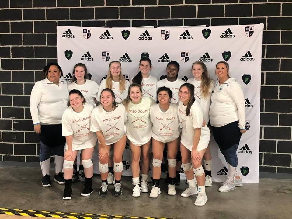 Georgia Adrenaline Volleyball Club, Team 18-Lisa, wins 1st place at the 2020 Joust Challenge volleyball tournament